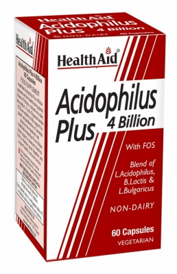 Health Aid Acidophilus Plus 4 Billion 60vcaps