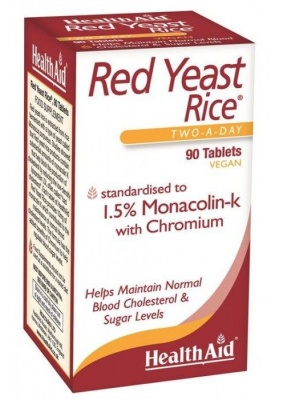 Health Aid Red Yeast Rice 90 tabs