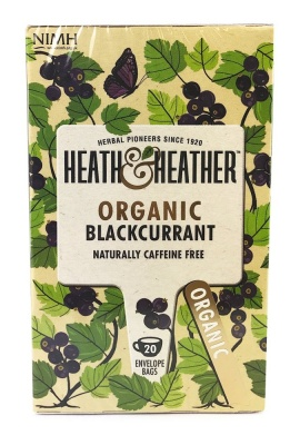 Organic Blackcurrant 20 Bags
