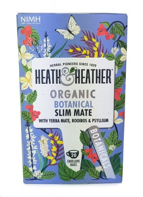 Organic Botanical Slim Mate Tea 20 Bags