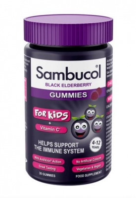 Sambucol For Kids Gummies 30 Gummies