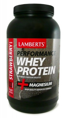 Lamberts Performance Whey Protein Strawberry Flavour  1kg