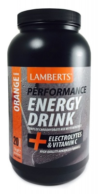 Lamberts Energy Drink Orange 1kg
