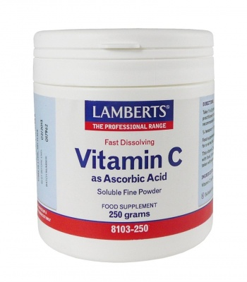 Lamberts Vitamin C as Ascorbic Acid  250g 250g