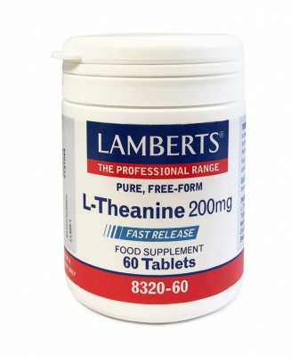 Lamberts L Theanine 200mg 60 tabs