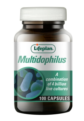 Lifeplan Multidophilus 4 Billion 100 vcaps