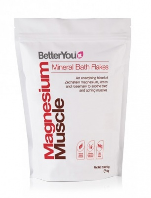Better You Magnesium Muscle Mineral Bath Flakes 1kg