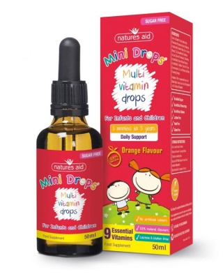 Natures Aid Multi Vitamin Mini Drops 50ml