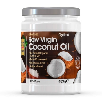 Optima Organic Raw Virgin Coconut Oil 453g