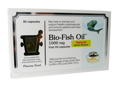 Pharma Nord Bio Fish Oils 1000mg 80 caps
