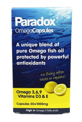 Paradox Omega Oils 1000Mg 30 caps