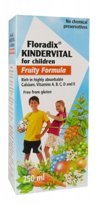 Kindervital Fruity Formula 250ml