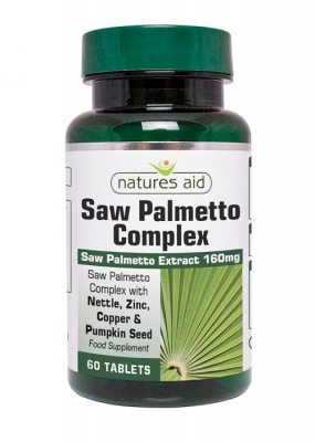 Natures Aid Saw Palmetto Complex 60 tabs