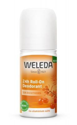 Weleda Sea Buckthorn 24h Roll On Deodorant 50ml