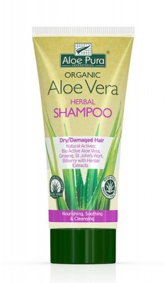 Aloe Pura Aloe Vera Herbal Shampoo Dry/Damaged Hair 200ml