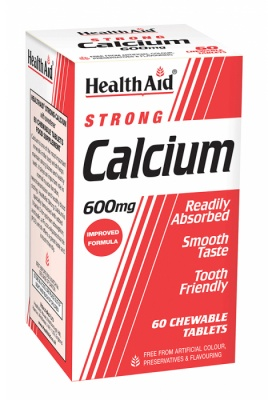 Health Aid Strong Calcium 600mg 60 tabs