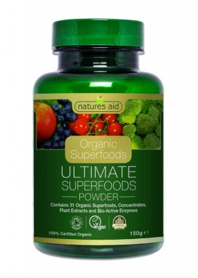 Natures Aid Organic Ultimate Superfood Powder 150g