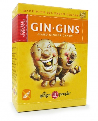 The Ginger People Gin Gins Double Strength Hard Ginger Candy 84g