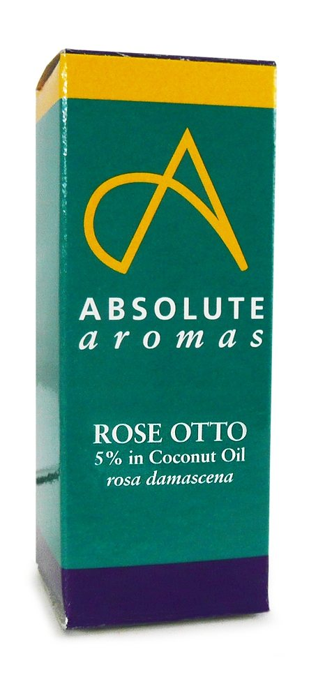Rose Otto 5% in Coconut Oil 10ml