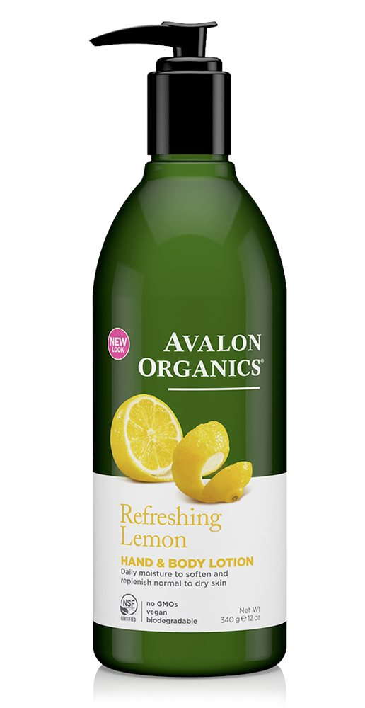 Avalon Organics Lemon H & B Lotion 350ml