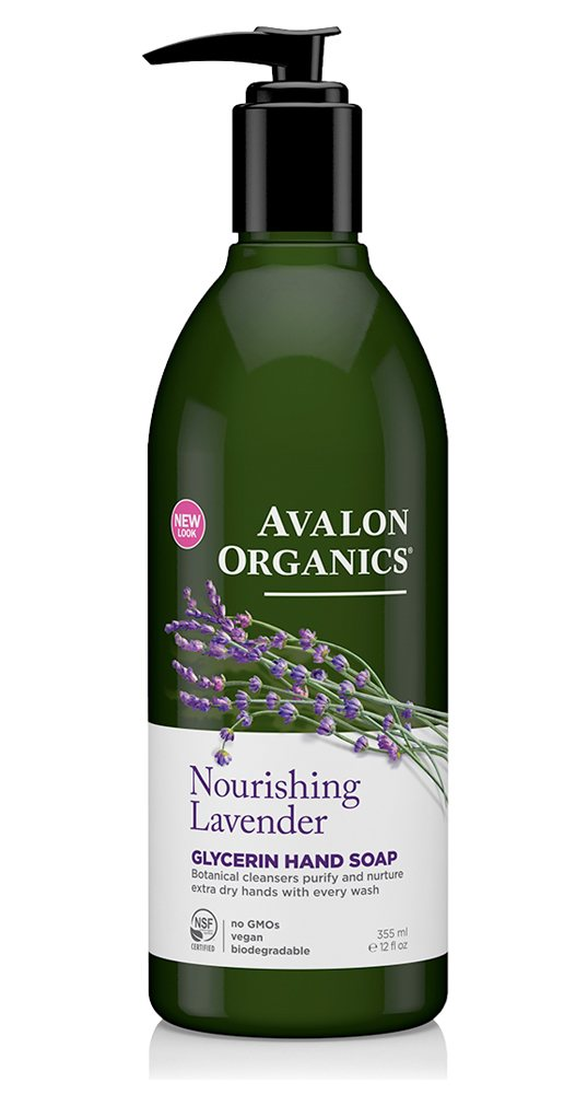 Avalon Organics Lavender Soap 350ml