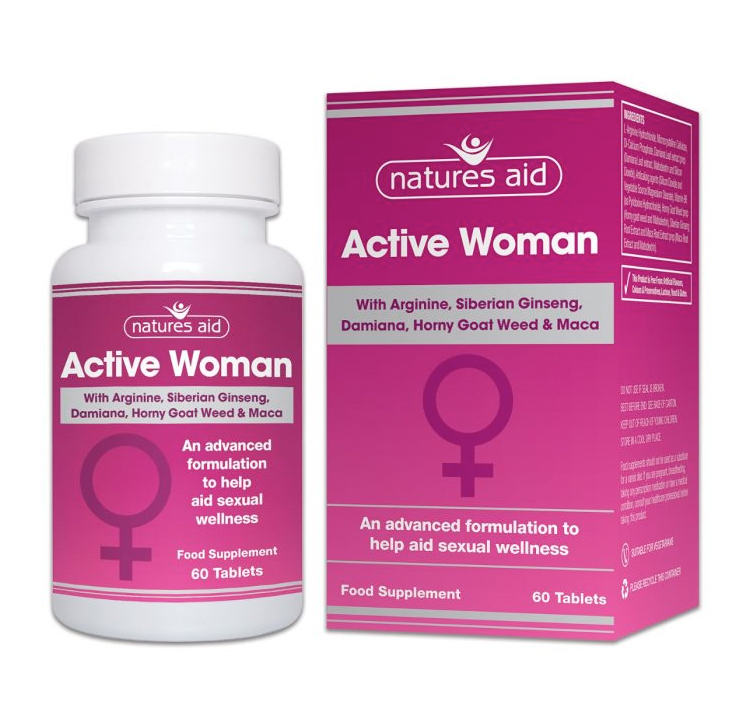 Natures Aid Active Woman 60 tabs