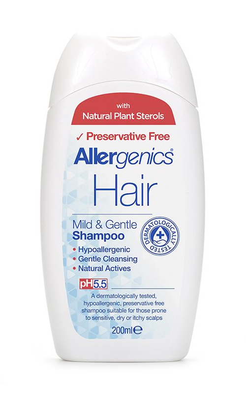 Allergenics Hair Mild & Gentle  Shampoo 200ml