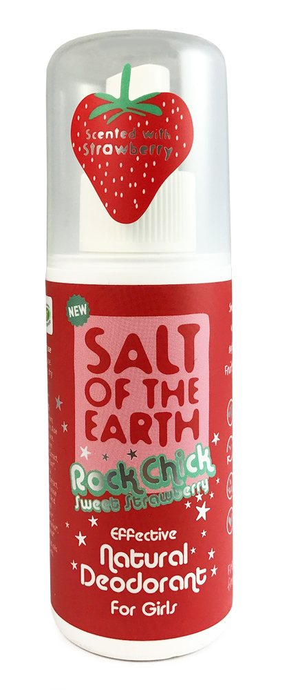 Salt of the Earth Rock Chick Strawberry 100ml