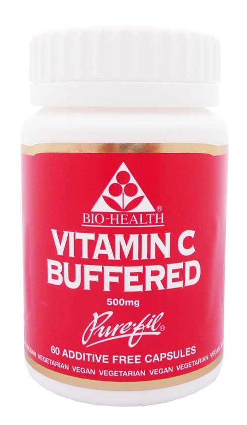Bio Health Buffered Vitamin C 500mg 60 caps