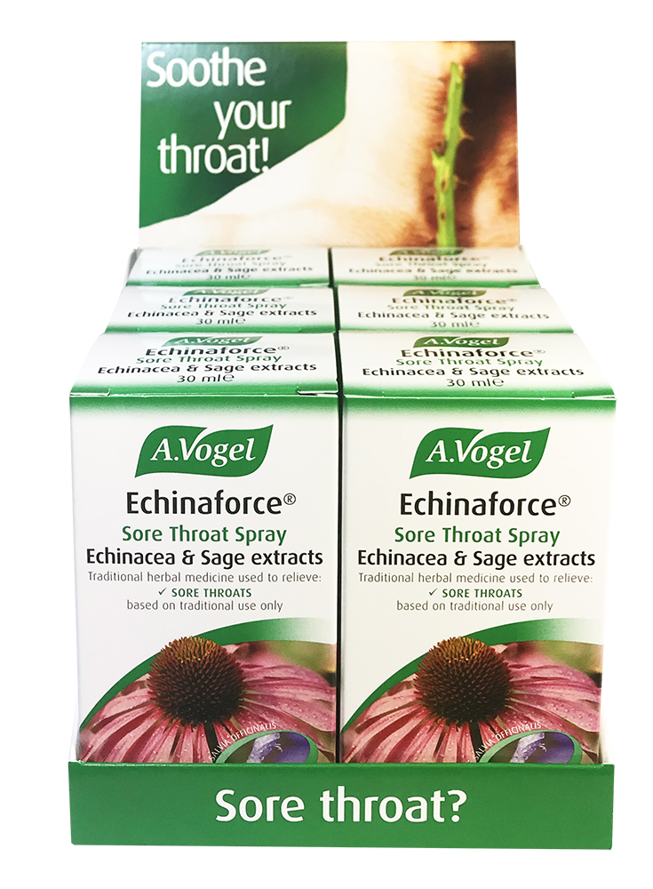 A.Vogel Echinaforce Sore Throat Spray CDU (6 x 30ml)