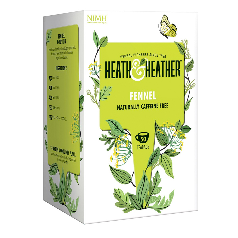 Heath & Heather Fennel 50 Bags
