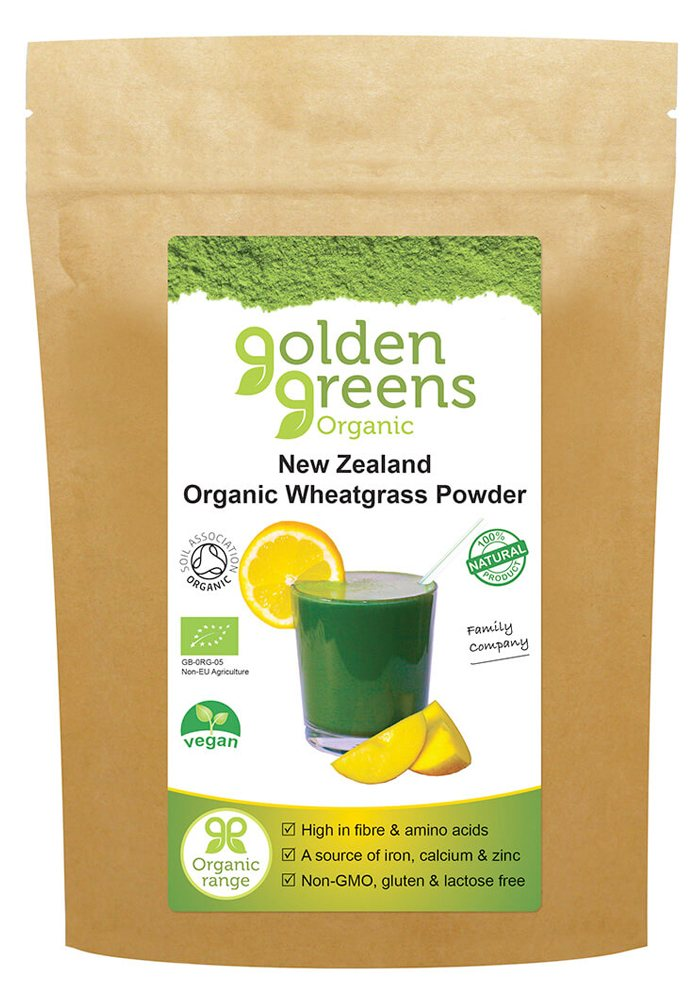 Greens Organic New Zealand Wheat Grass Powder 100g