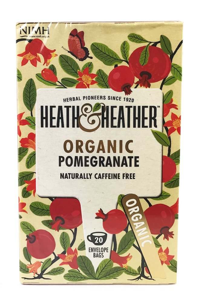 Heath & Heather Organic Pomegranate 20 Bags