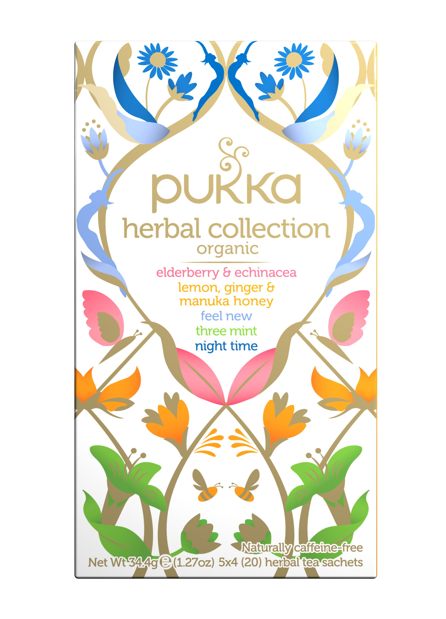 Pukka Herbal Collection Pack 20 Tea sachets