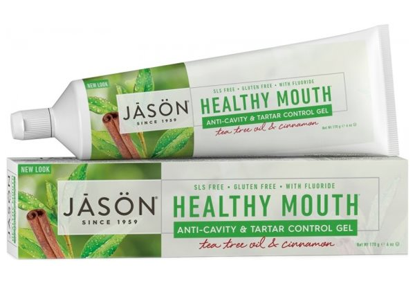 Jason Healthy Mouth Anti-Cavity & Tartar Control Gel 170g