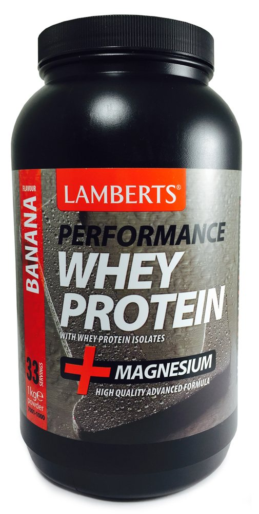 Lamberts Performance Whey Protein Banana Flavour  1kg