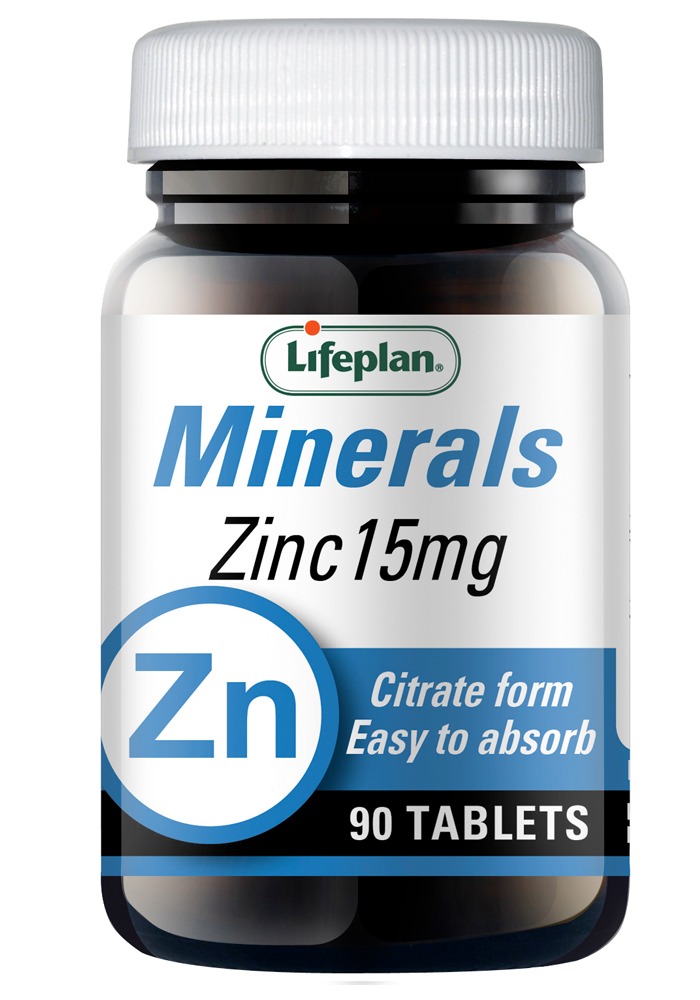 Lifeplan Zinc Citrate 15mg 90 tabs