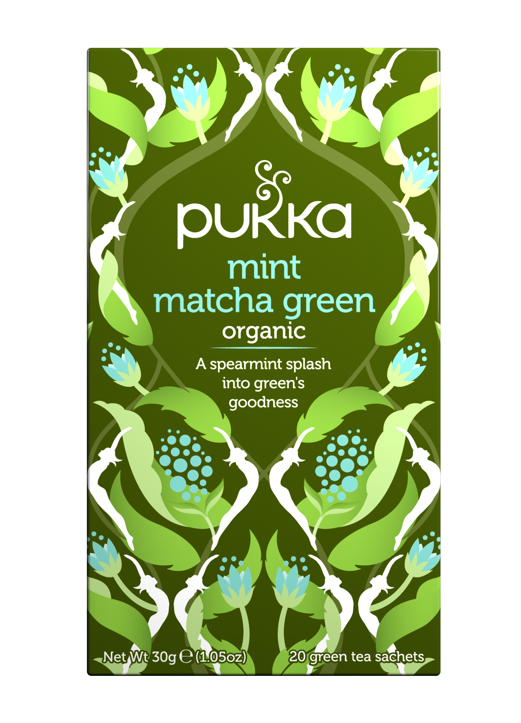 Pukka Mint Matcha Green 20 Tea sachets