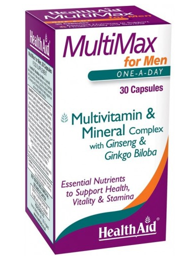 Health Aid MultiMax for Men 30 caps