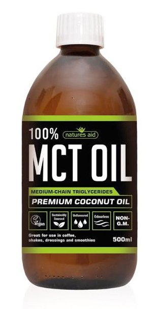 Natures Aid MCT Oil 100% 500ML