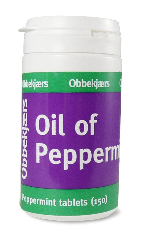 Obbekjaers Peppermint 150 tabs