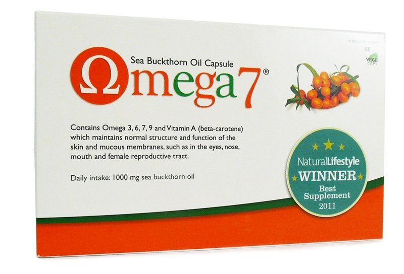 Pharma Nord Omega 7 Sea Buckthorn Oil 60 caps