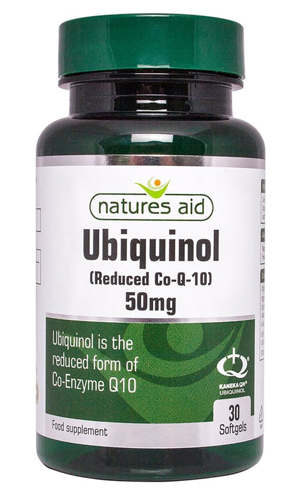 Natures Aid Ubiquinol 50mg 30 caps